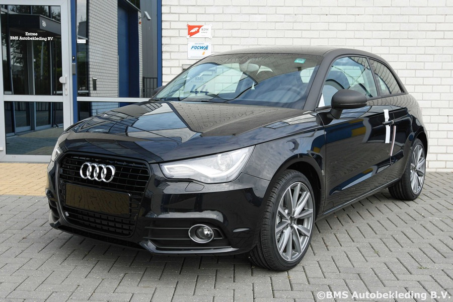 Audi A1 Oger Tailor Made Nappa Zwart A8 Look Bms