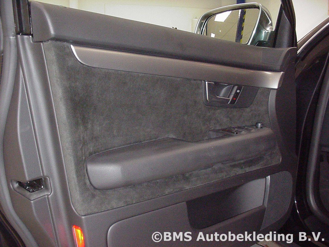 Audi A4 Avant 2002 Zwart Nappa Alcantara Sport Stoel Bms