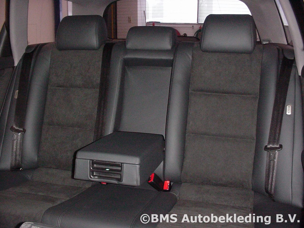 Audi A4 Avant 2002 Zwart Nappa-Alcantara sport stoel   BMS ...