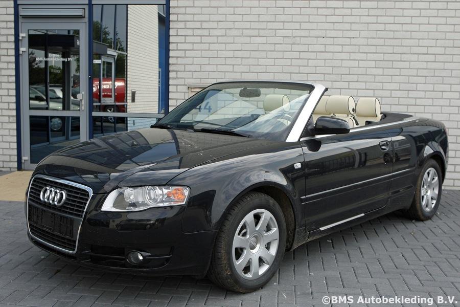 Audi A4 Cabrio 2008 Tailor Made Nappa Light Beige Zwarte