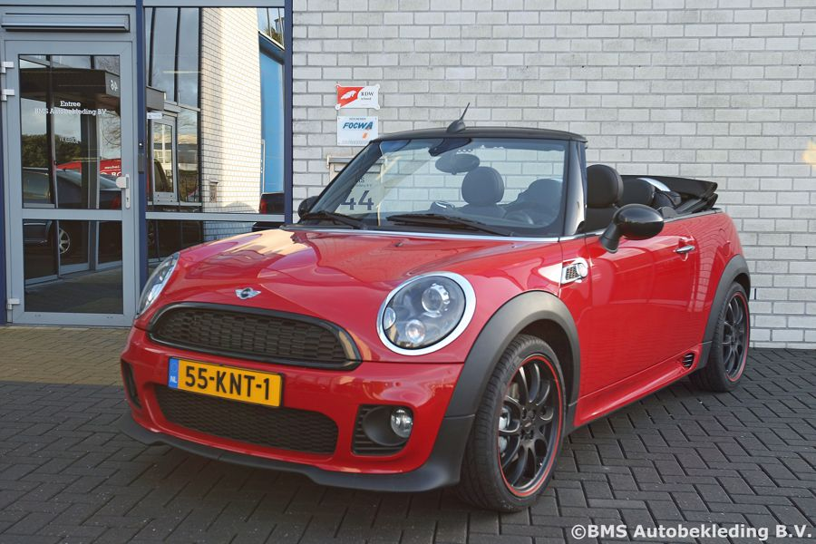 What Is Leather Made Of >> MINI Cooper S Cabrio 2010 Tailor Made Daytona Nappa Zwart ...