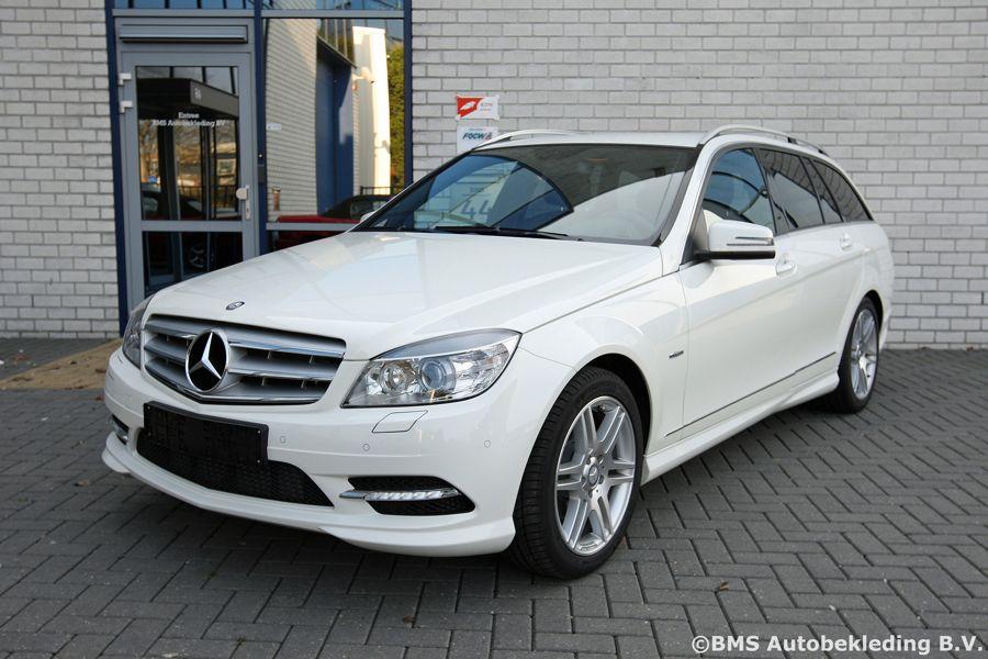 Mercedes Benz C Klasse Estate 2010 Leder Zwart Bms Autobekleding